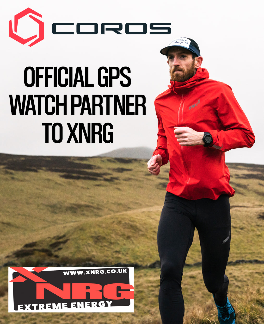 COROS Wearables partners with XNRG Events